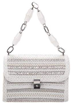Eric Javits Metallic Straw Bag