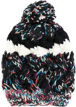 Missoni chunky knit bobble hat