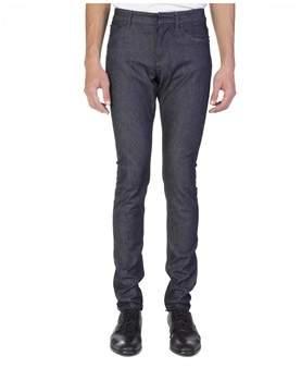 Balenciaga Men's Slim Fit Denim Jeans Pants Blue.