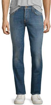 Nudie Jeans Grim Tim Douglas Replica Slim Jeans, Blue
