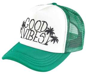 San Diego Hat Company Sublimated Good Vibes Trucker Hat SLW1007