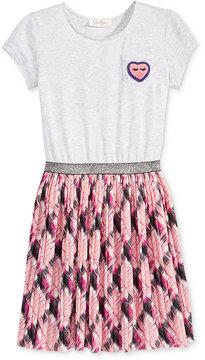 Jessica Simpson Plaid Skirt Dress, Big Girls (7-16)