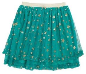 Truly Me Toddler Girl's Shimmer Star Tutu Skirt