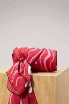 Valentino Lipstick scarf