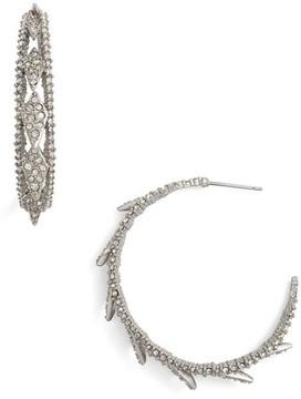 Alexis Bittar Women's Crystal Encrusted Hook Earrings