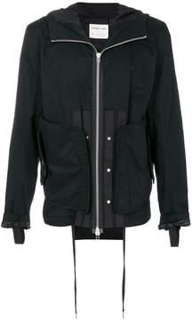 Helmut Lang zip-up hooded jacket
