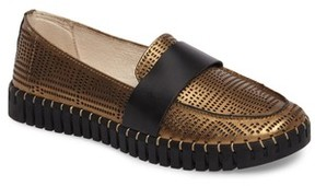 Bernie Mev. Women's Tw74 Perforated Flat