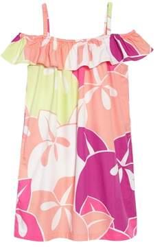 Tea Collection Ruffle Neck Dress