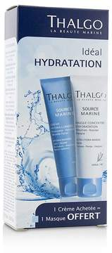 Thalgo Ideal Hydration Kit: Hydra-Marine 24H Cream 50ml + Ultra Hydra-Marine Mask 50ml