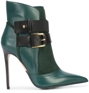 Balmain buckled ankle boots