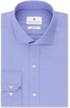 Ryan Seacrest Distinction Non-Iron Slim-Fit Houndstooth Dress Shirt, Created for Macy's