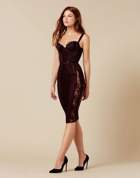 Agent Provocateur Peachy Dress Black