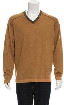 Malo Cashmere Striped Sweater w/ Tags