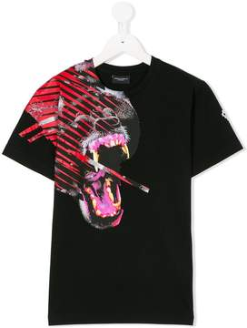 Marcelo Burlon County of Milan Kids graphic logo printed T-shirt