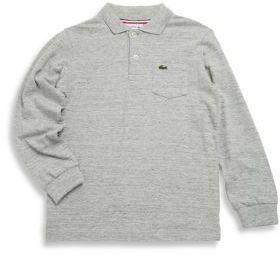 Lacoste Toddler's, Little Boy's & Boy's Cotton Long-Sleeve Shirt