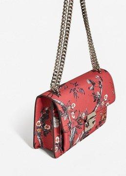 MANGO Pebbled chain bag