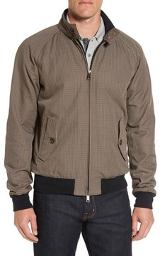 Baracuta Men's G9 Houndstooth Harrington Jacket