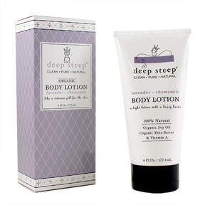 Lavender and Chamomile Body Lotion by Deep Steep (6oz Lotion)