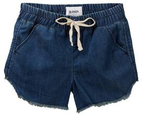 Hudson Chambray Jogger Fray Shorts (Big Girls)