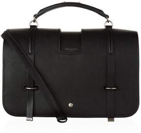 Saint Laurent Large Charlotte Messenger Bag - BLACK - STYLE