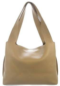 The Row Pebbled Duplex Leather Tote