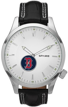 Icon Eyewear Sparo Watch - Men's Boston Red Sox Leather