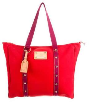 Louis Vuitton Antigua Cabas GM - RED - STYLE