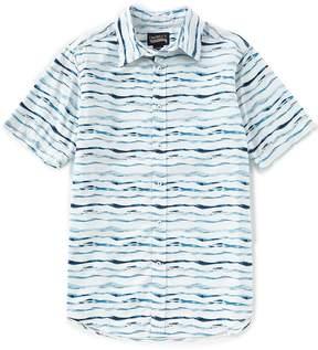 Daniel Cremieux Jeans Stripe Short-Sleeve Woven Shirt