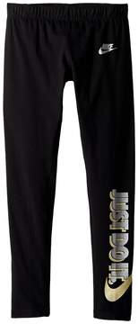 Nike Sportswear Just Do It Legging Girl's Casual Pants
