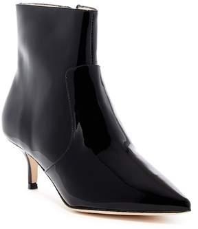 Bettye Muller Astor Kitten Heel Patent Leather Bootie