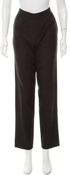 Dusan High-Rise Straight-Leg Pants w/ Tags