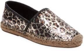 Marc Jacobs Women's Leopard Espadrille Flats