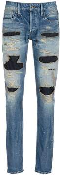 Denham Jeans 'Razor Zmijas' ripped slim fit jeans