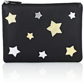 Barneys New York WOMEN'S LARGE LEATHER POUCH