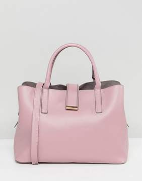 Asos Soft Pinch Lock Tote Bag