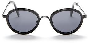 Joe's Jeans Unisex Polarized Round Sunglasses
