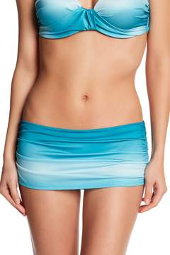Ach'e A Che' Monroe Ombre Faux Skirt Bikini Bottom