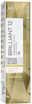Ion 7G Medium Golden Blonde Permanent Gloss Hair Color
