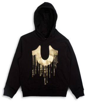 True Religion Boy's Drippy Cotton Hoodie