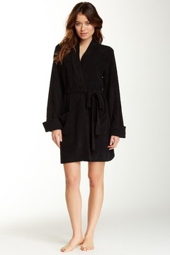 Betsey Johnson Cozy Sweater Wrap Robe