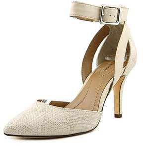 Style&Co. Style & Co Maisyy Women Pointed Toe Synthetic Ivory Heels.