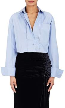 Cédric Charlier Women's Cotton Poplin Oversized Shirt