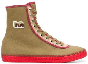 Marni M logo hi-top sneakers