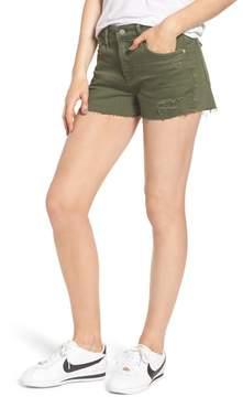 AG Jeans The Bryn High Waist Cutoff Denim Shorts