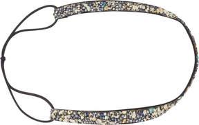 Scunci Headbands of Hope Black with Multi Colored Stones Headwrap