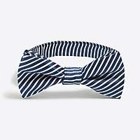 J.Crew Factory Boys' seersucker silk bow tie
