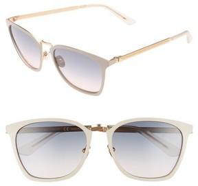 Calvin Klein Women's 54Mm Square Sunglasses - Bone