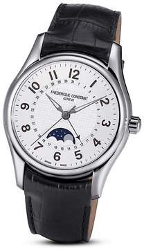 Frederique Constant Runabout Moonphase Watch, 43mm