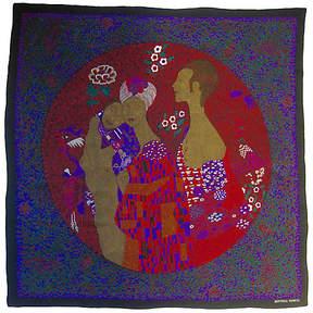 One Kings Lane Vintage Bottega Veneta Klimt Scarf - The Emporium Ltd.