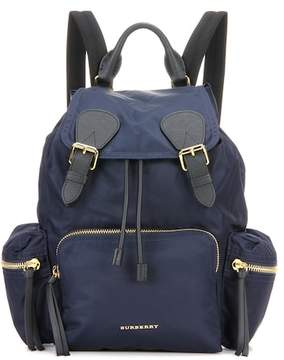Burberry Leather and fabric Rucksack backpack